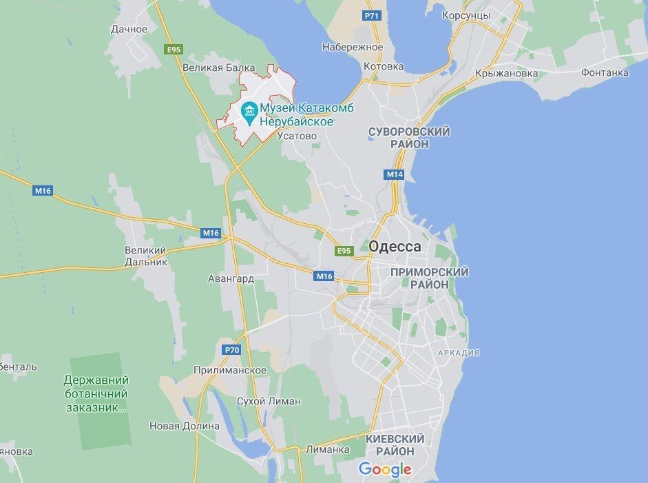 Пожар произошел в селе под Одессой.