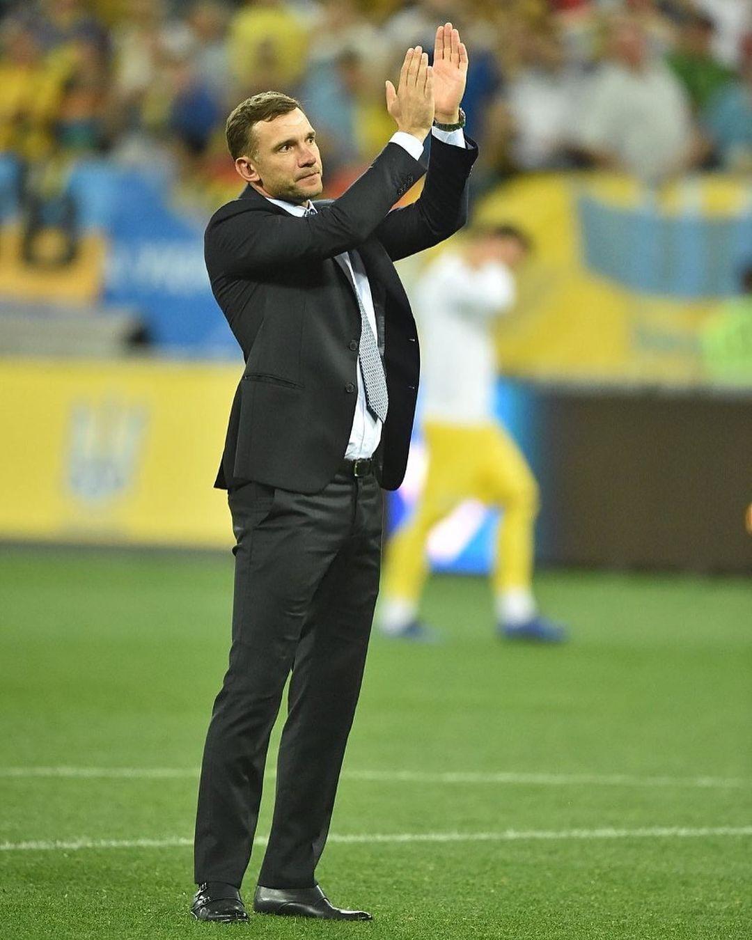 Шевченко попрощался с командой