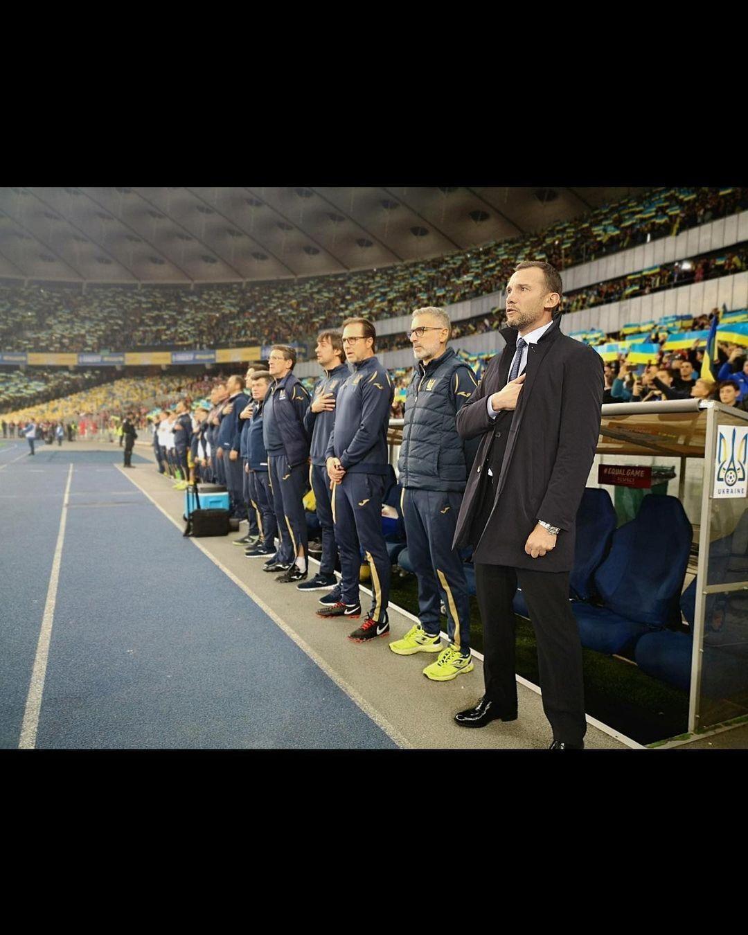 Андрей Шевченко с командой