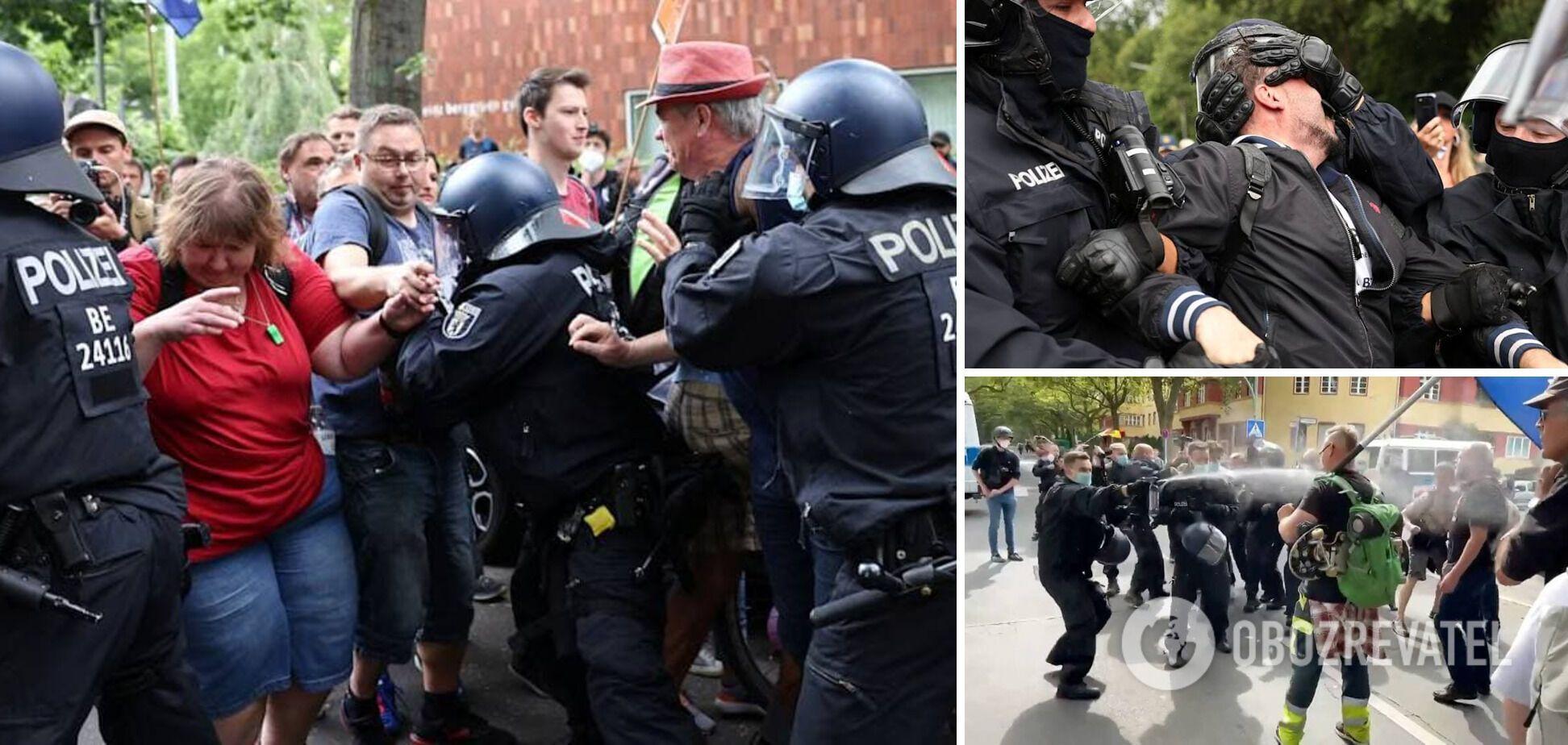 Затримання демонстрантів