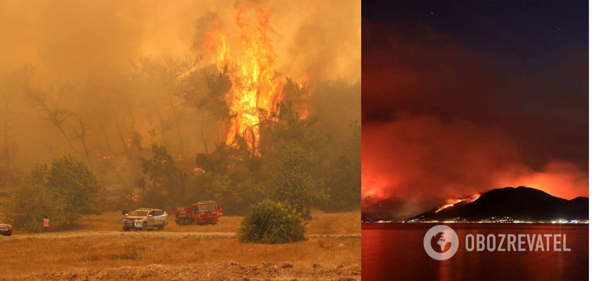 Пожежі у Туреччині тривають пів тижня
