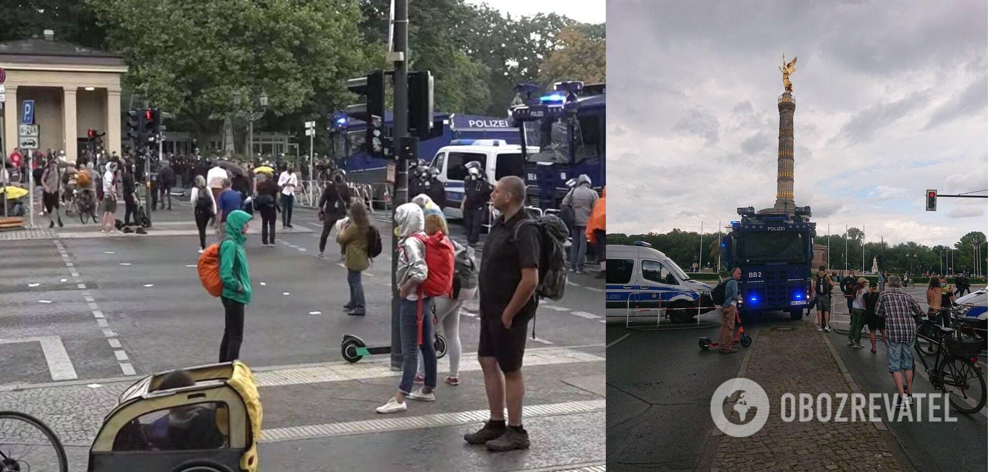 Мітинг пройшов у центрі міста