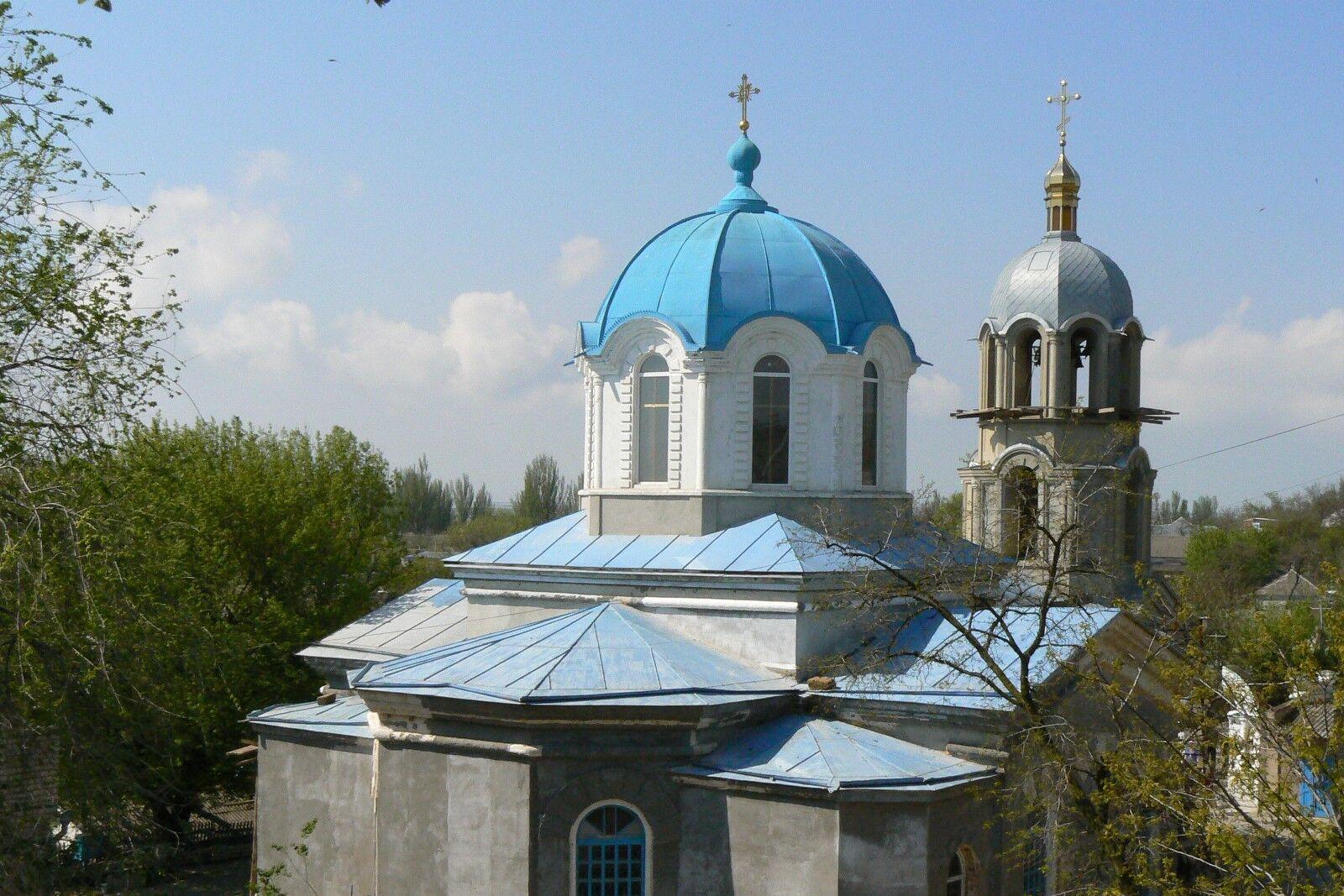 Церква Різдва Богородиці початку XX століття