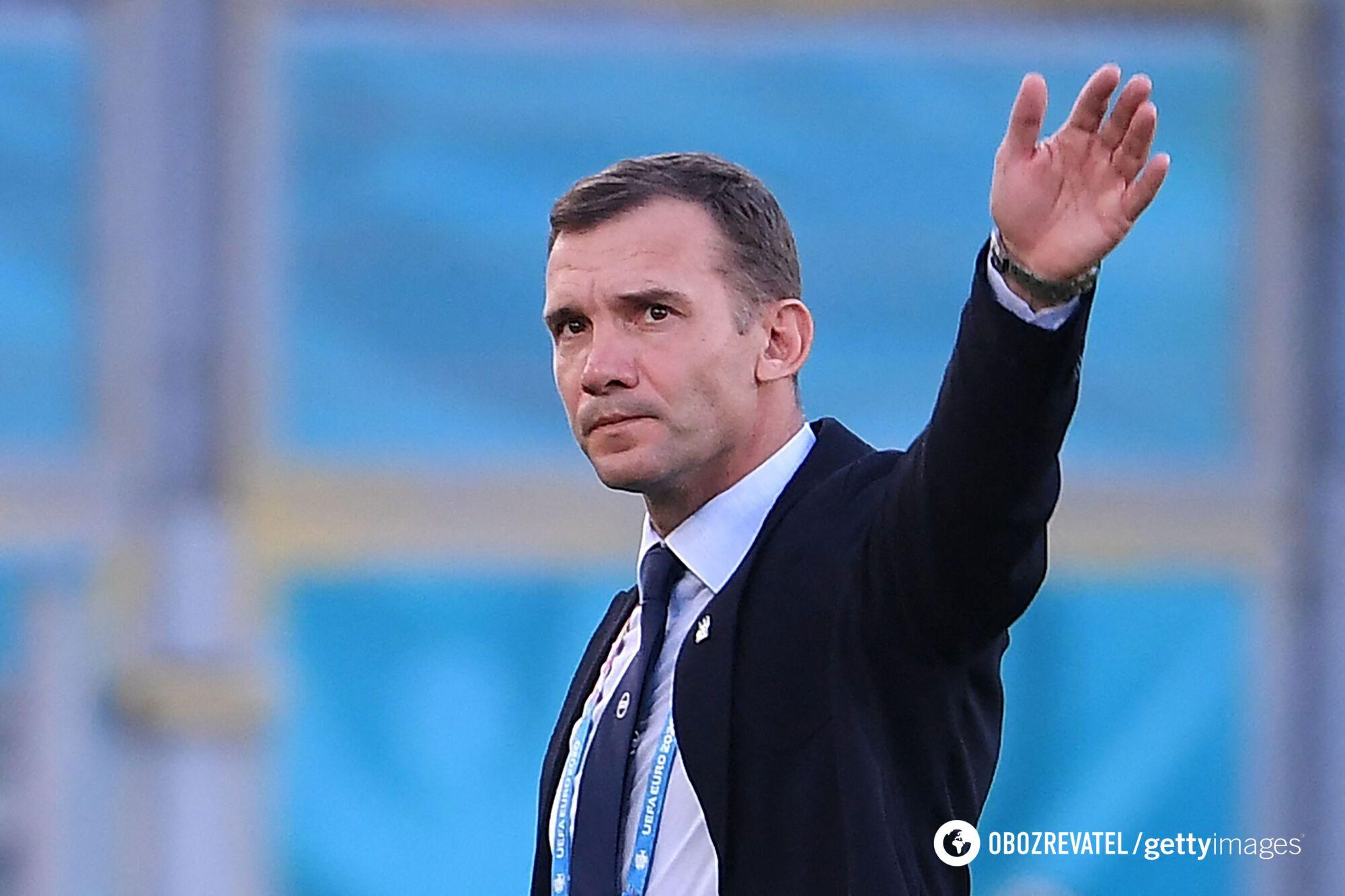 Шевченко п'ять років працював зі збірною України.