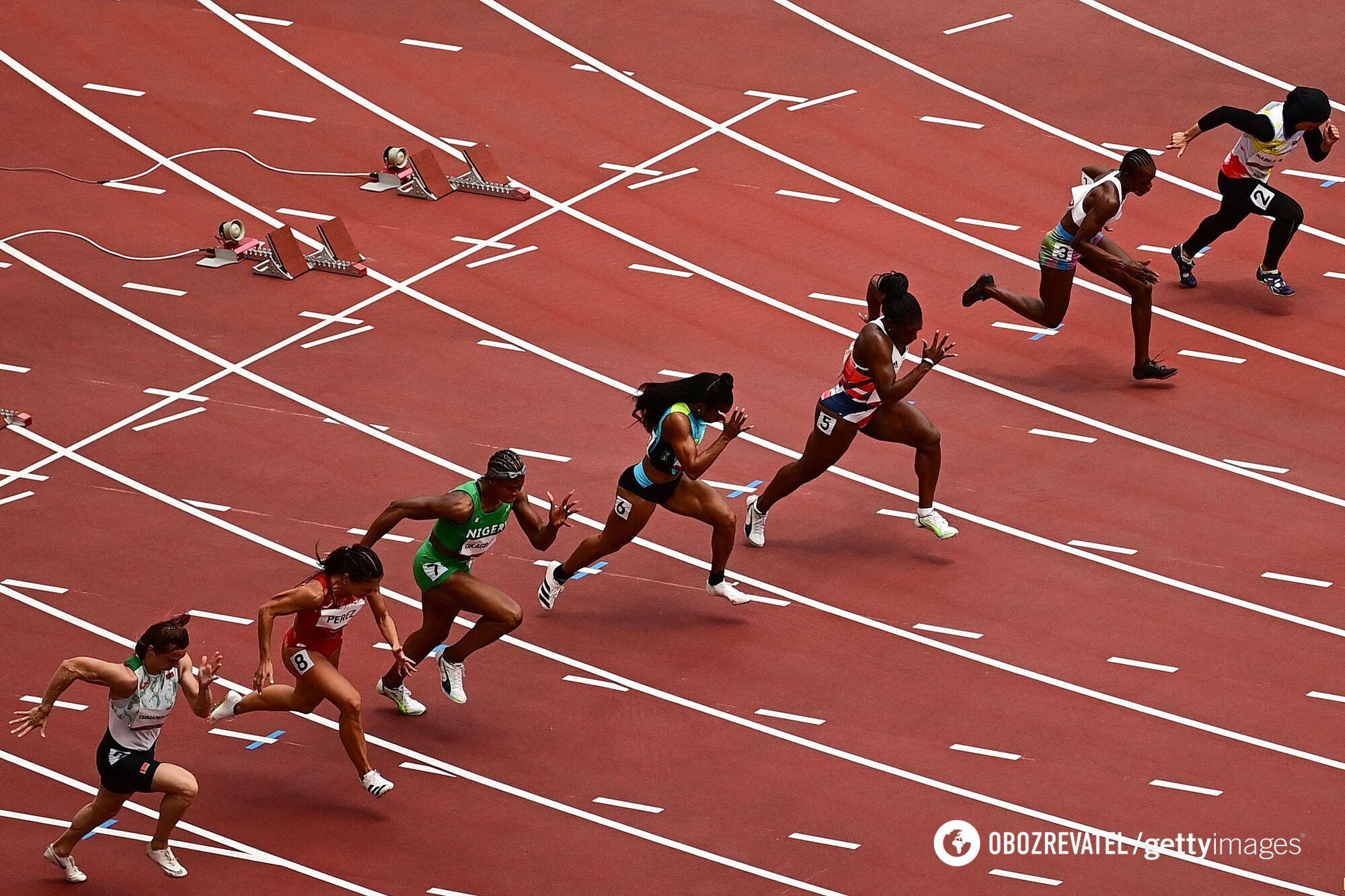 Забіг на Олімпіаді