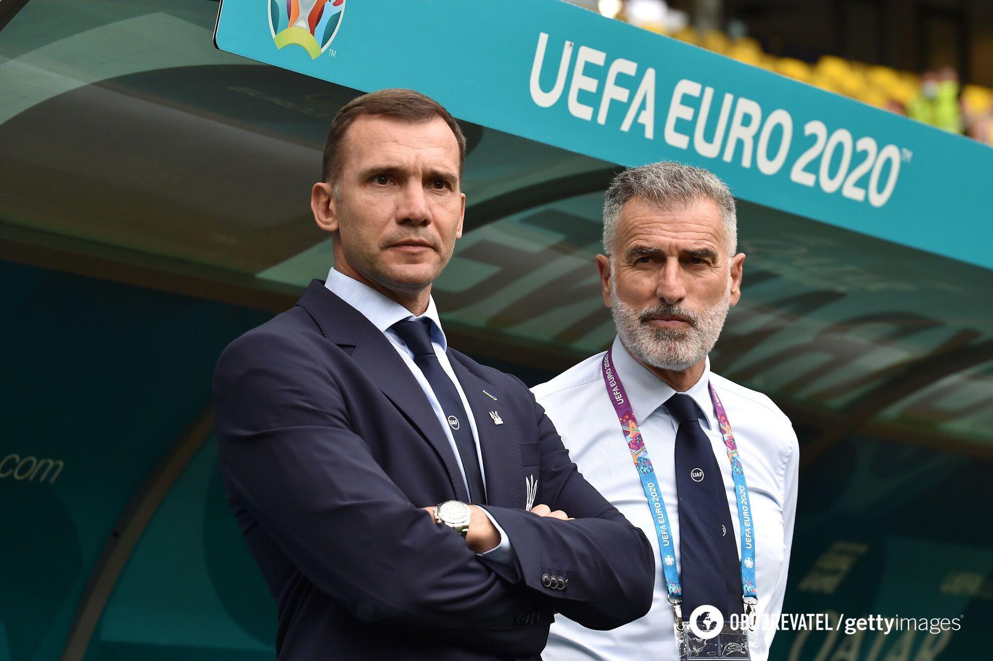 Андрій Шевченко на Євро-2020