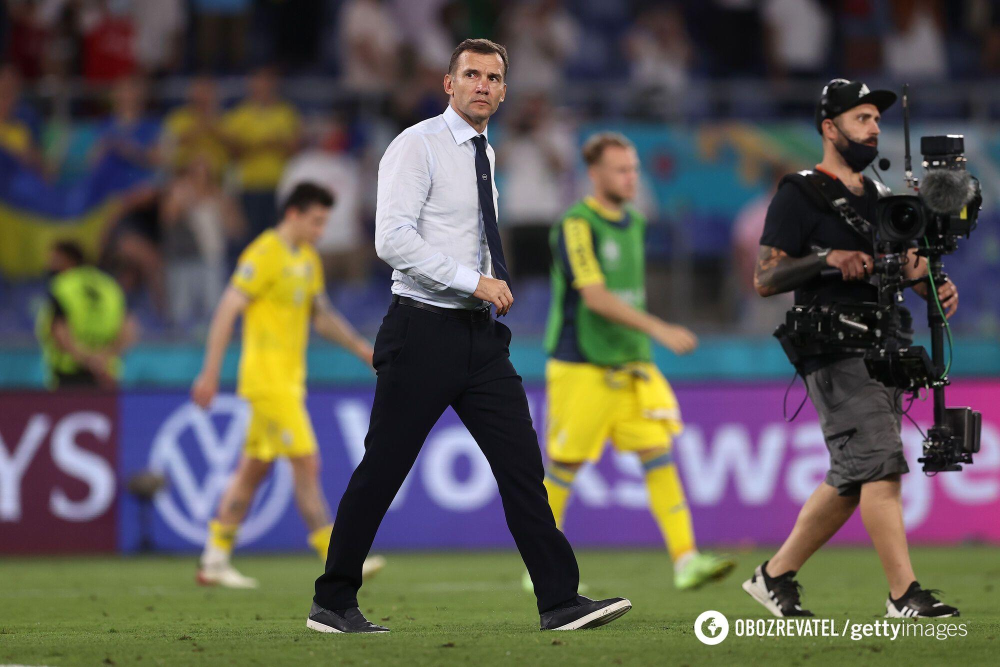 Андрей Шевченко ушел из сборной Украины
