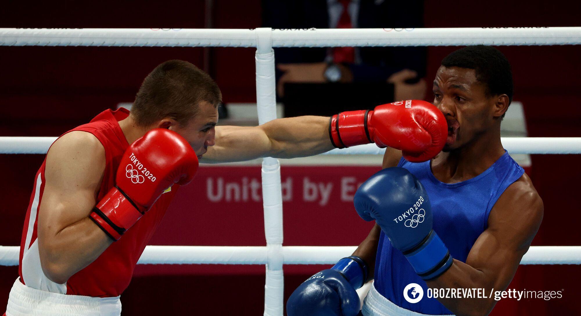 Александр Хижняк на Олимпиаде в Токио.