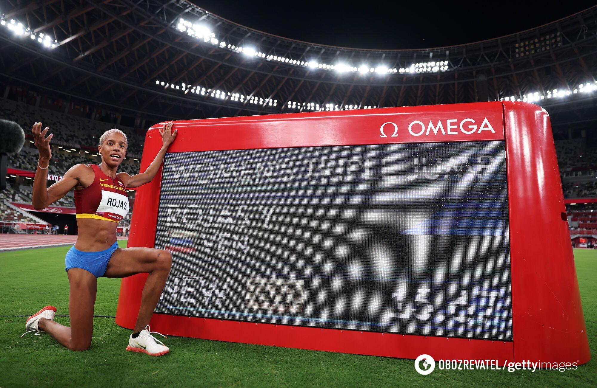 Юлімар Рохас встановила новий рекорд