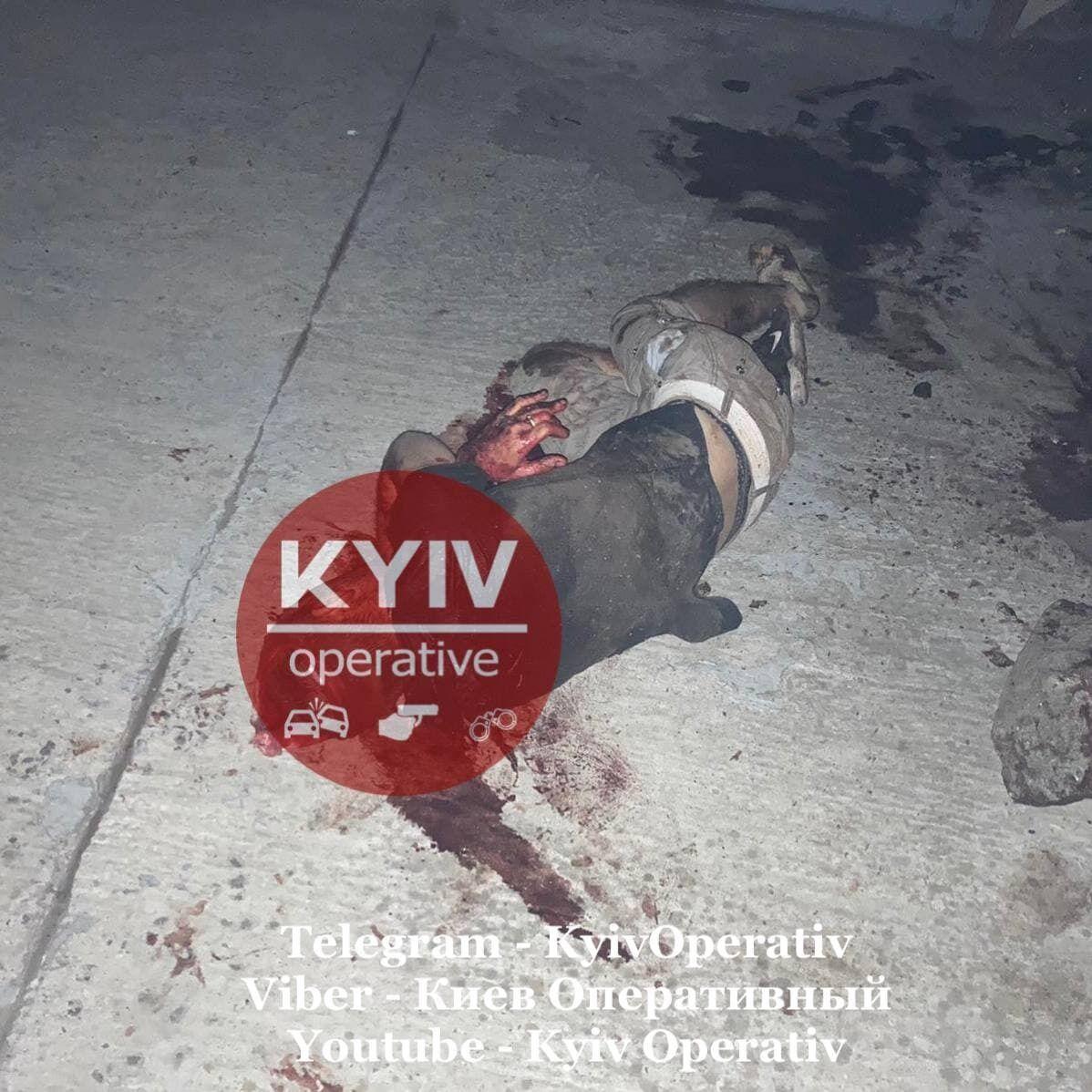 На Киевщине избили таксиста