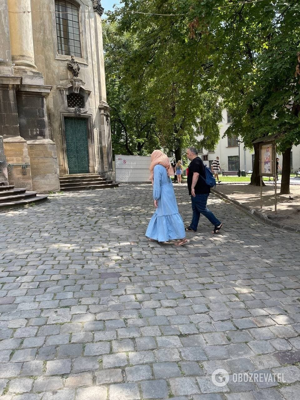 У Львові безліч туристів із Саудівської Аравії