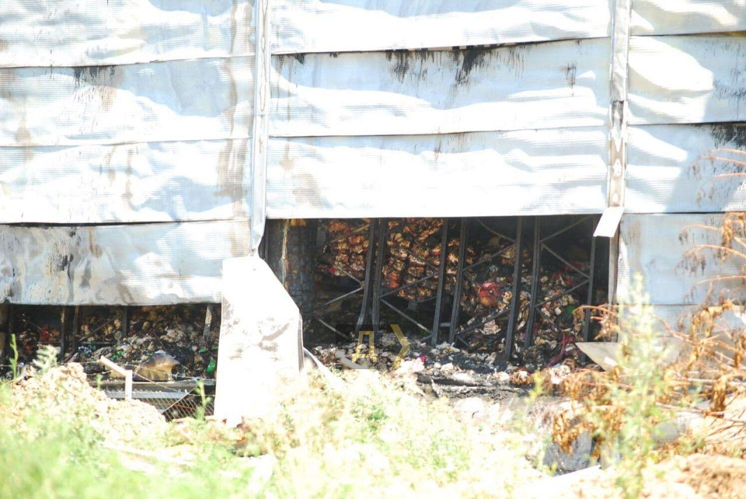 В Одесской области сгорели склады