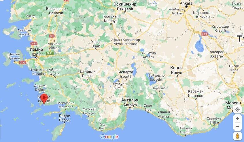 Пожары в Турции дошли до Бодрума