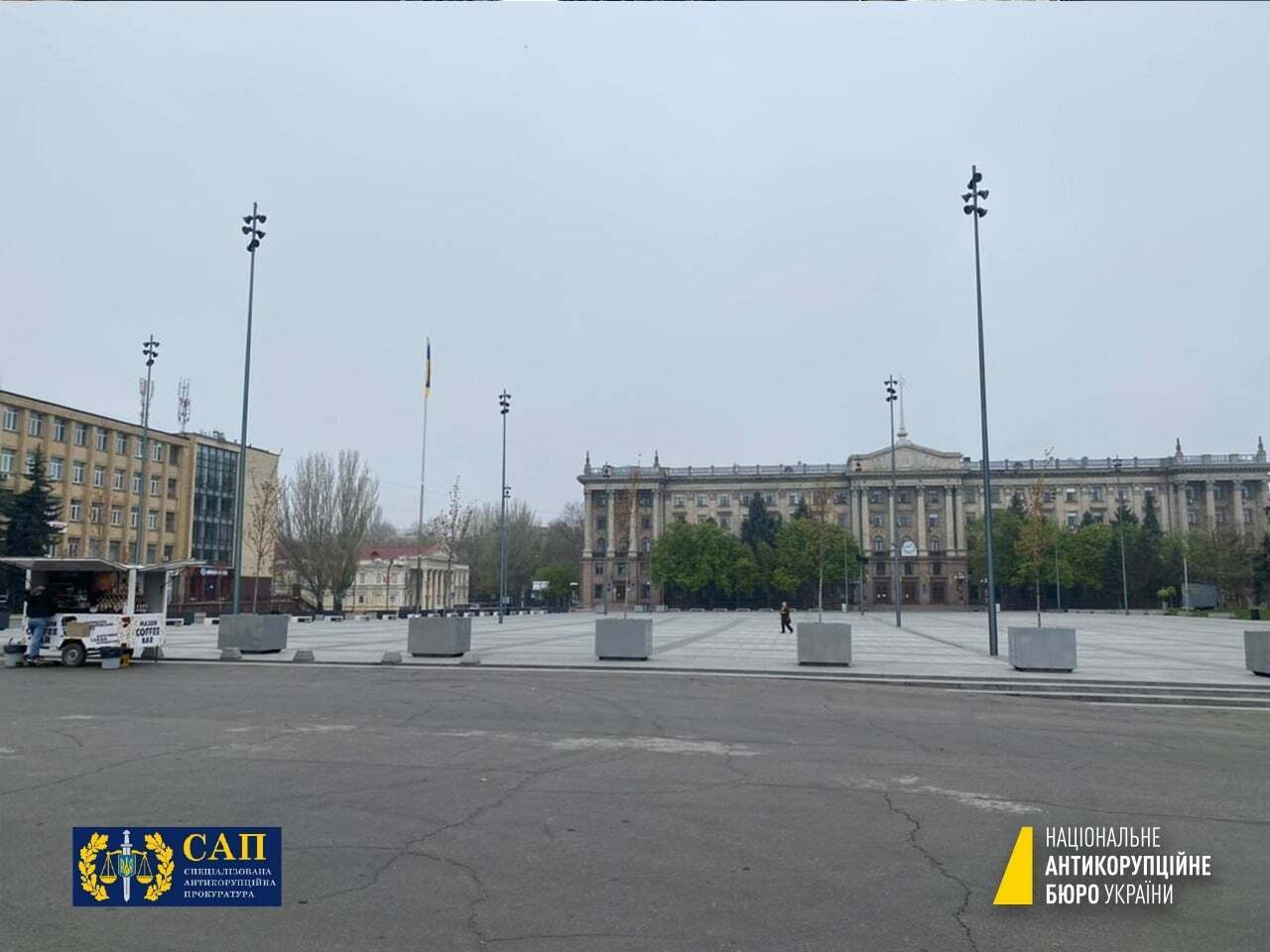 Соборна площа в Миколаєві