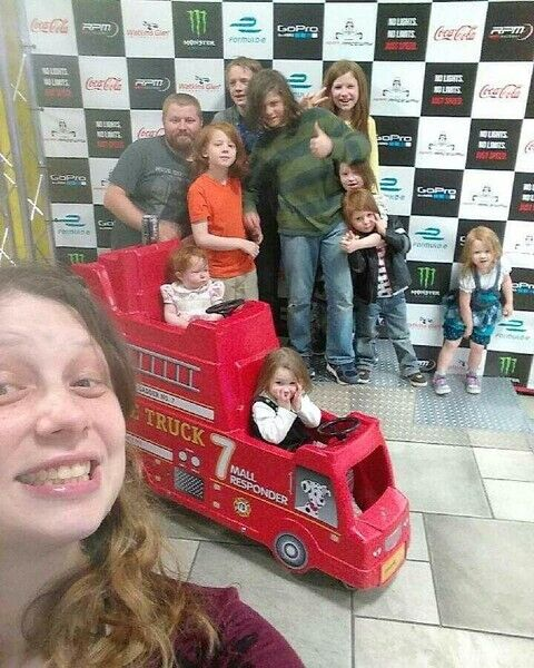 Меррітт та її сім'я