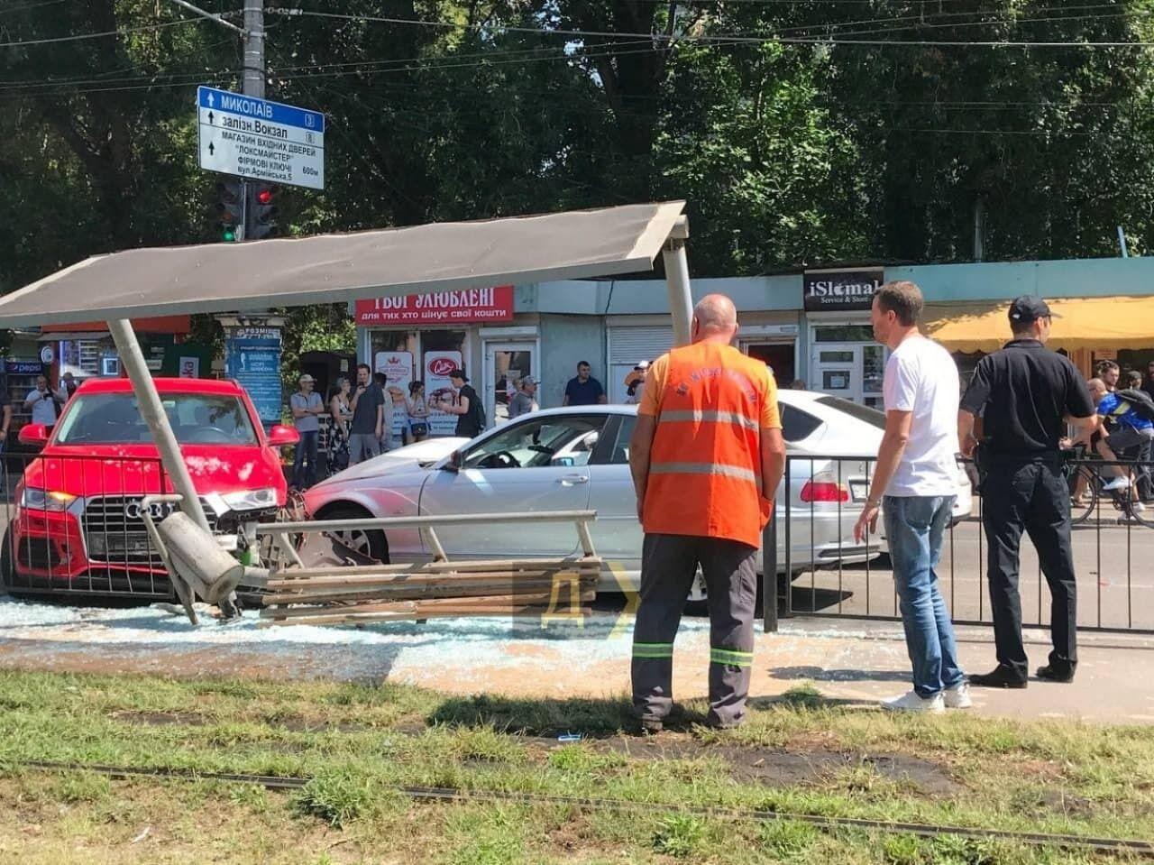 Аварія в Одесі.