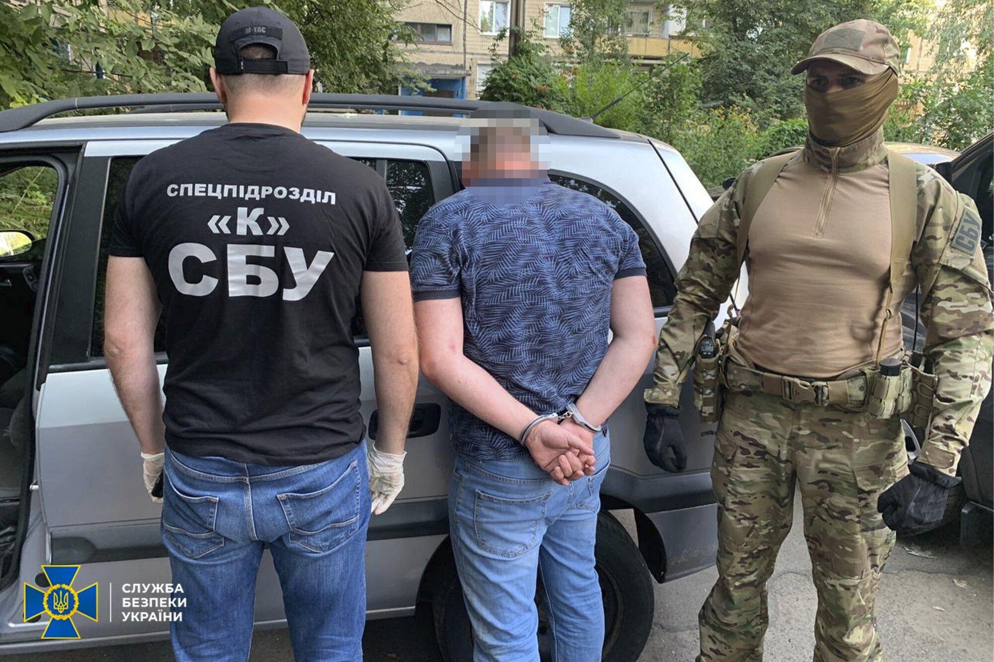 СБУ затримала  п'ятьох членів ОЗГ, але підозру оголошено тільки чотирьом