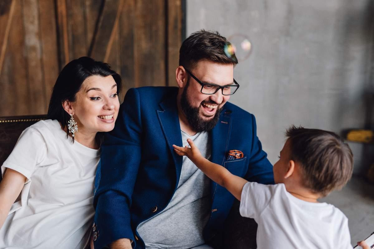 Григорій Герман, його дружина і син