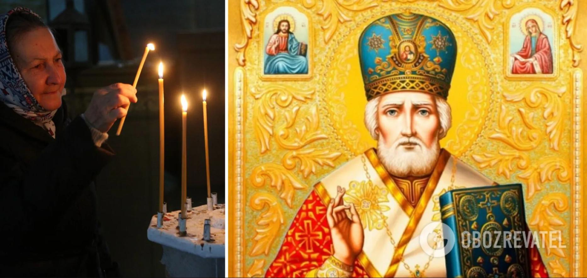 Люди верят, что святой Николай особенно приближен к Богу, поэтому с молитвами к нему обращаются только в самых трудных ситуациях