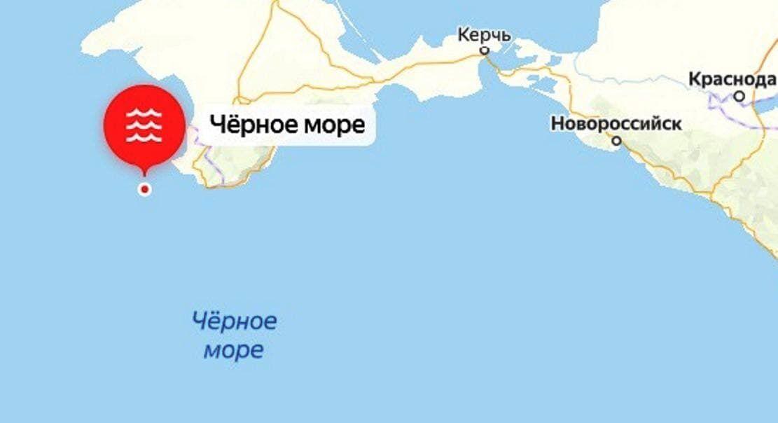Место землетрясения