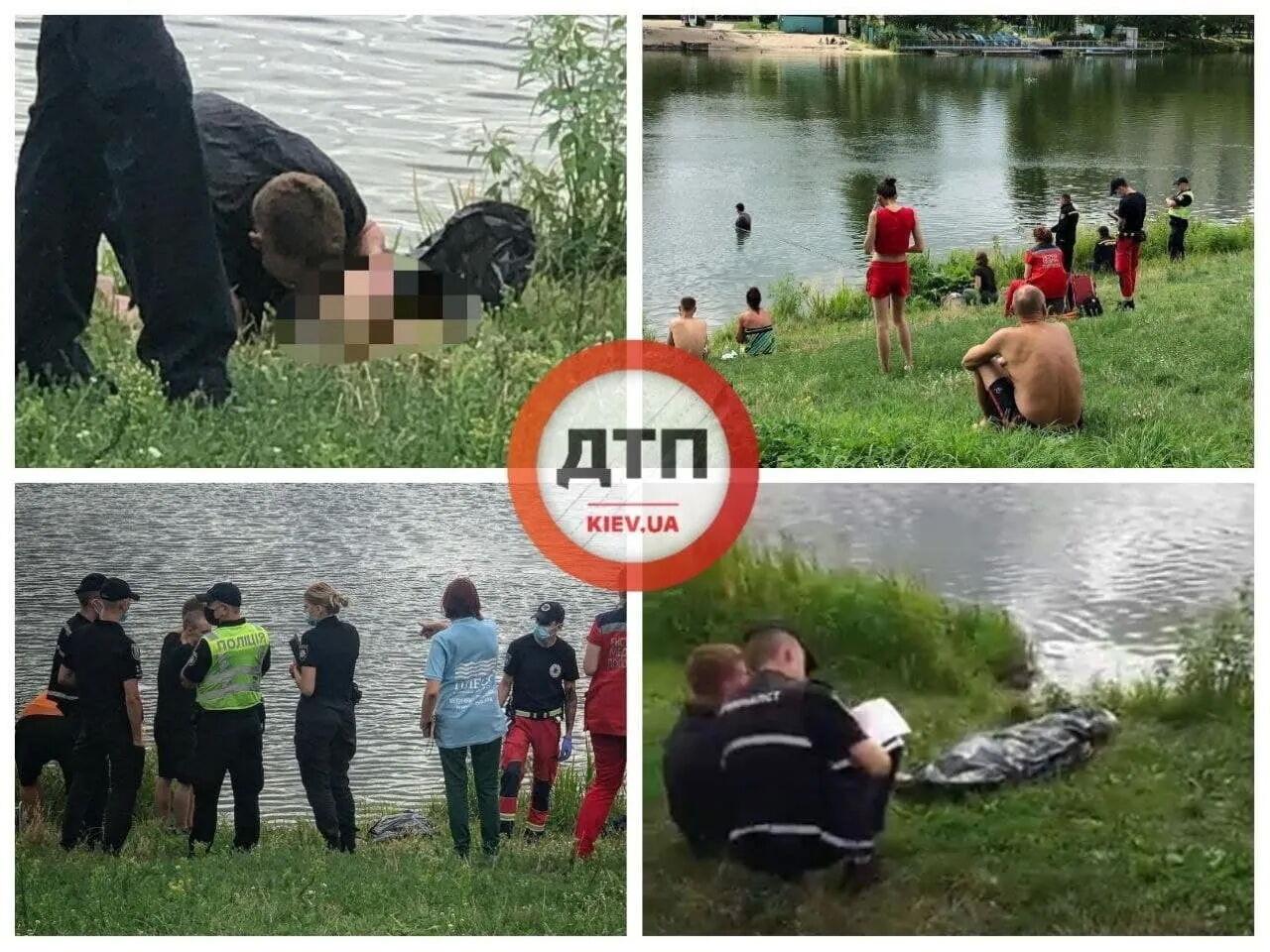 В Киеве утонула беременная женщина.