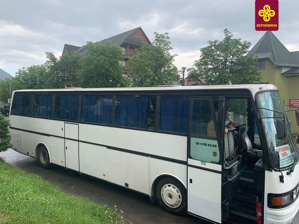 З Києва у Верховину можна дістатися на автобусі