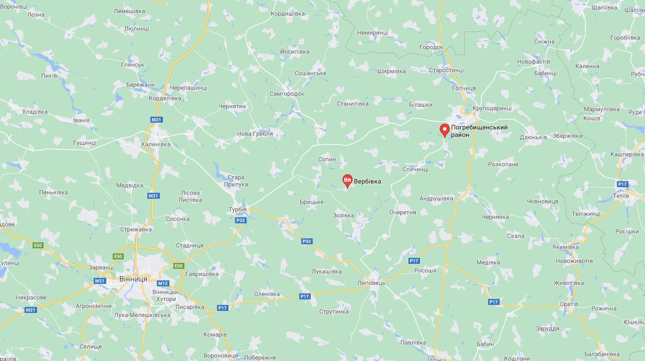 Село Вербовка
