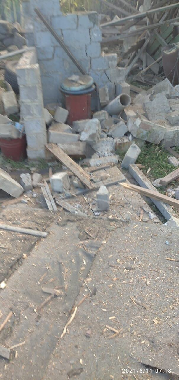 На Донбассе в результате обстрела погиб мужчина.