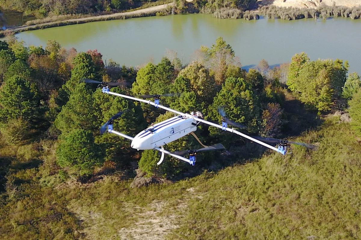 Дрон Hybrid Advanced Multi-Rotor (HAMR)