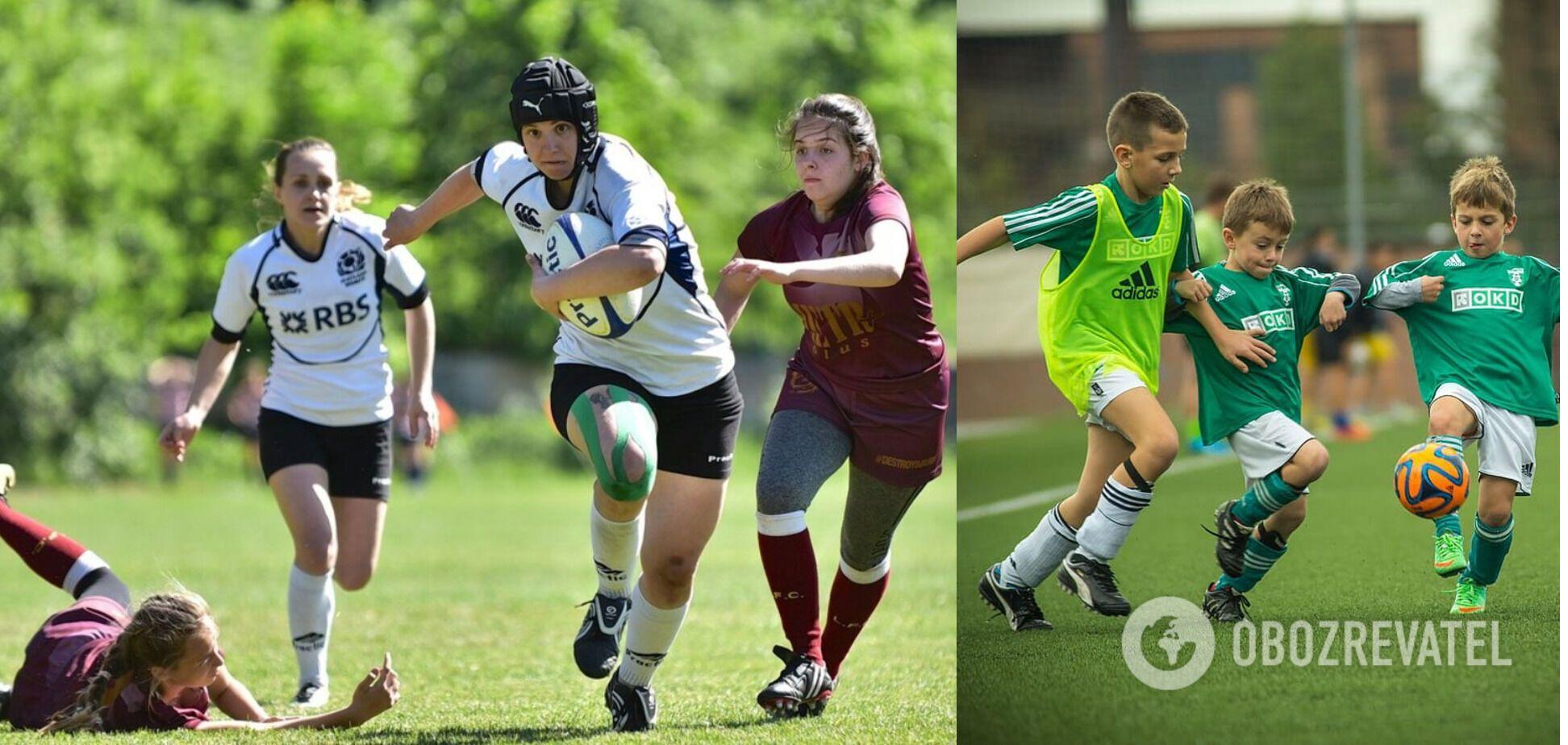 Занятия регби и футболом могут повлиять на долголетие человека