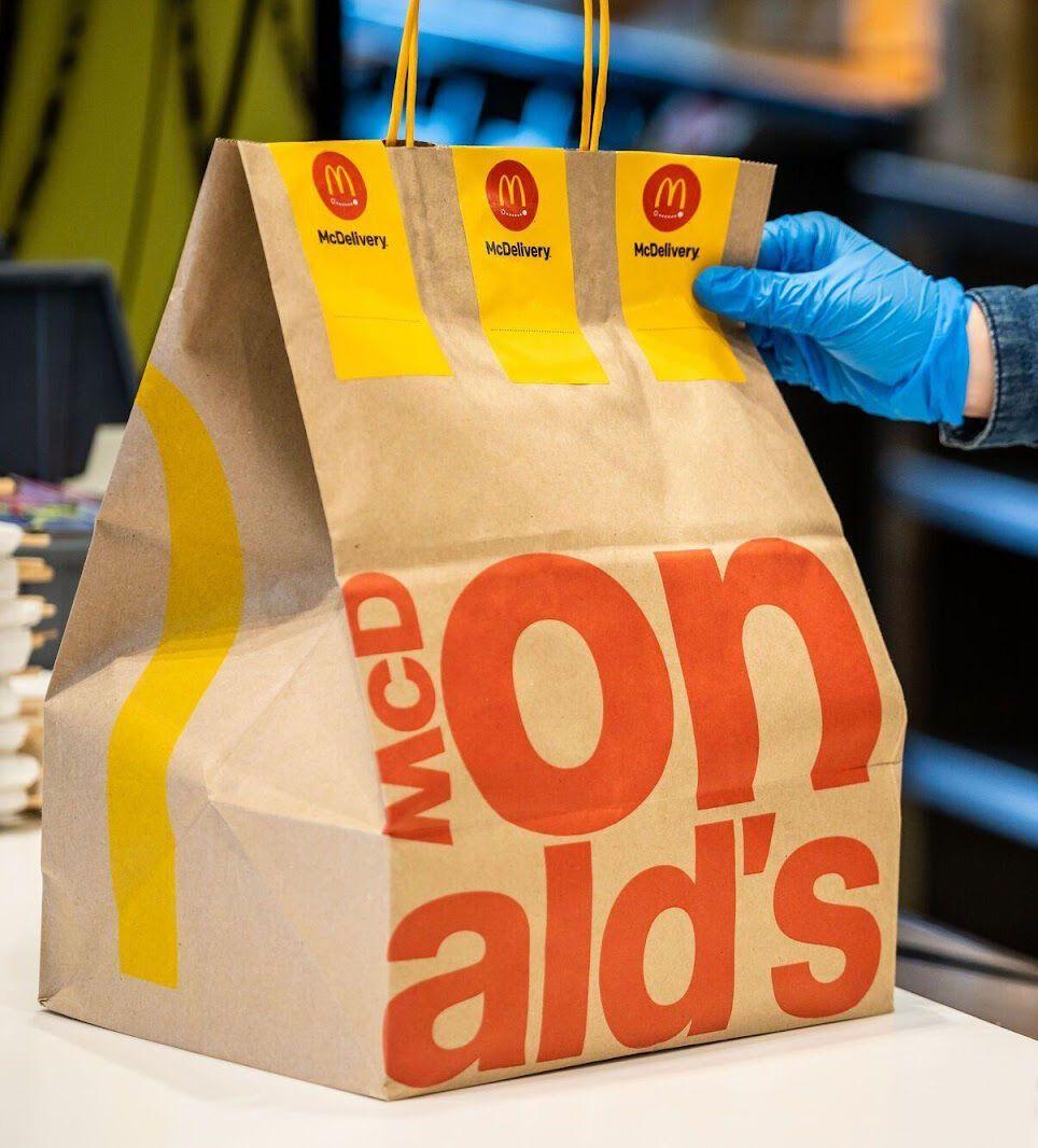 Ресторан McDonald's.