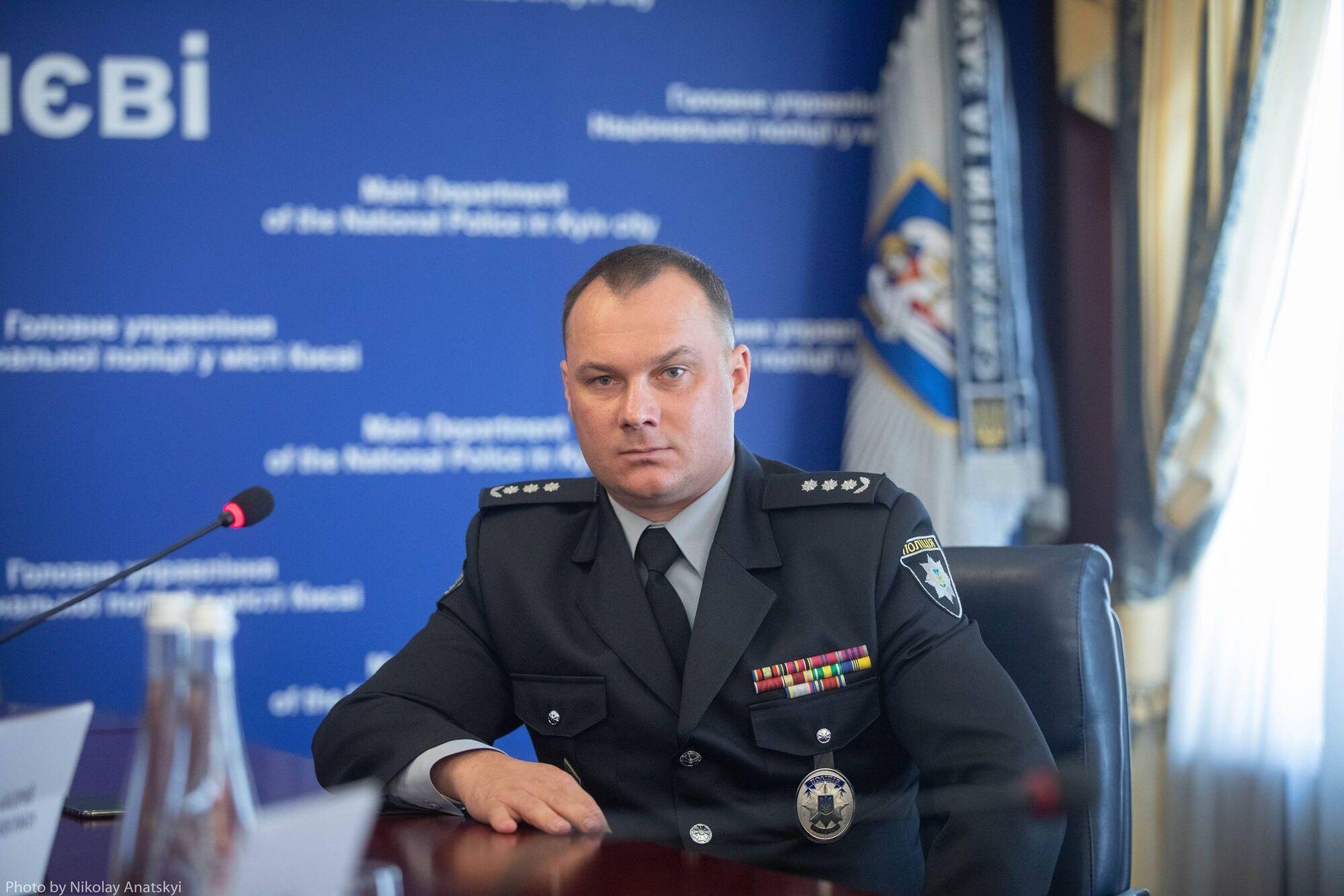 Выгивского представили коллективу столичной полиции