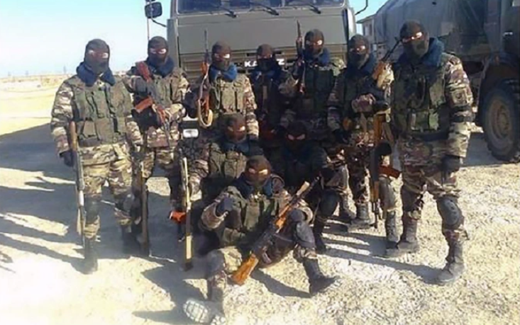 Найманці з приватної військової компанії в Сирії