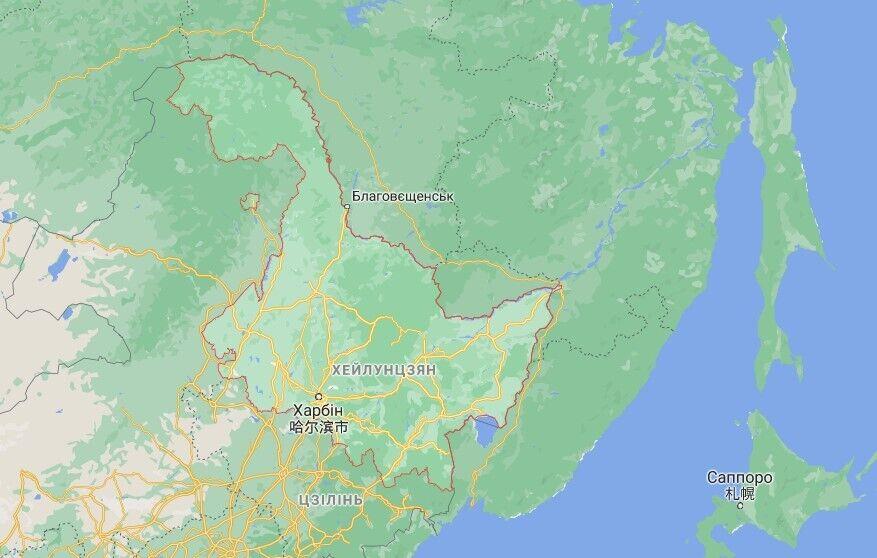 Кратер від астероїда виявили в провінції Хейлунцзян на північному сході Китаю