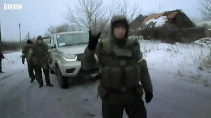 Уперше найманці засвітилися на Донбасі