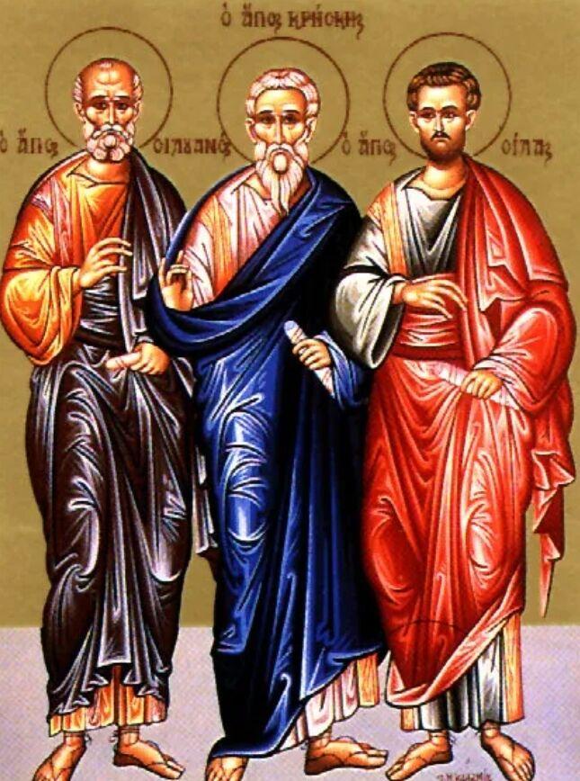 12 августа почитают память святых Силы и Силуана