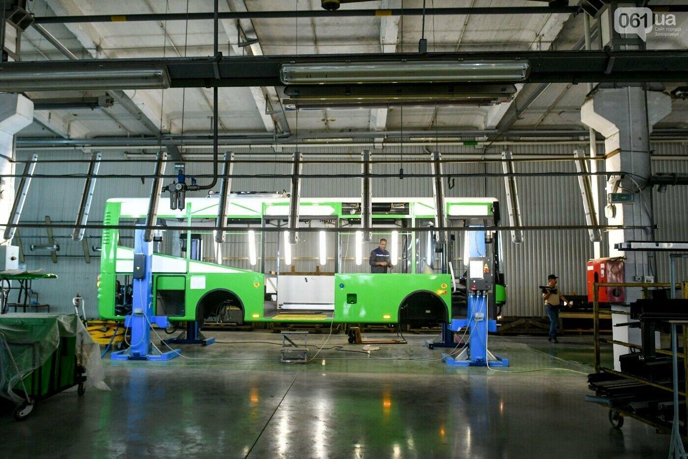 Збірка автобуса А10 для польського Ельбльонга