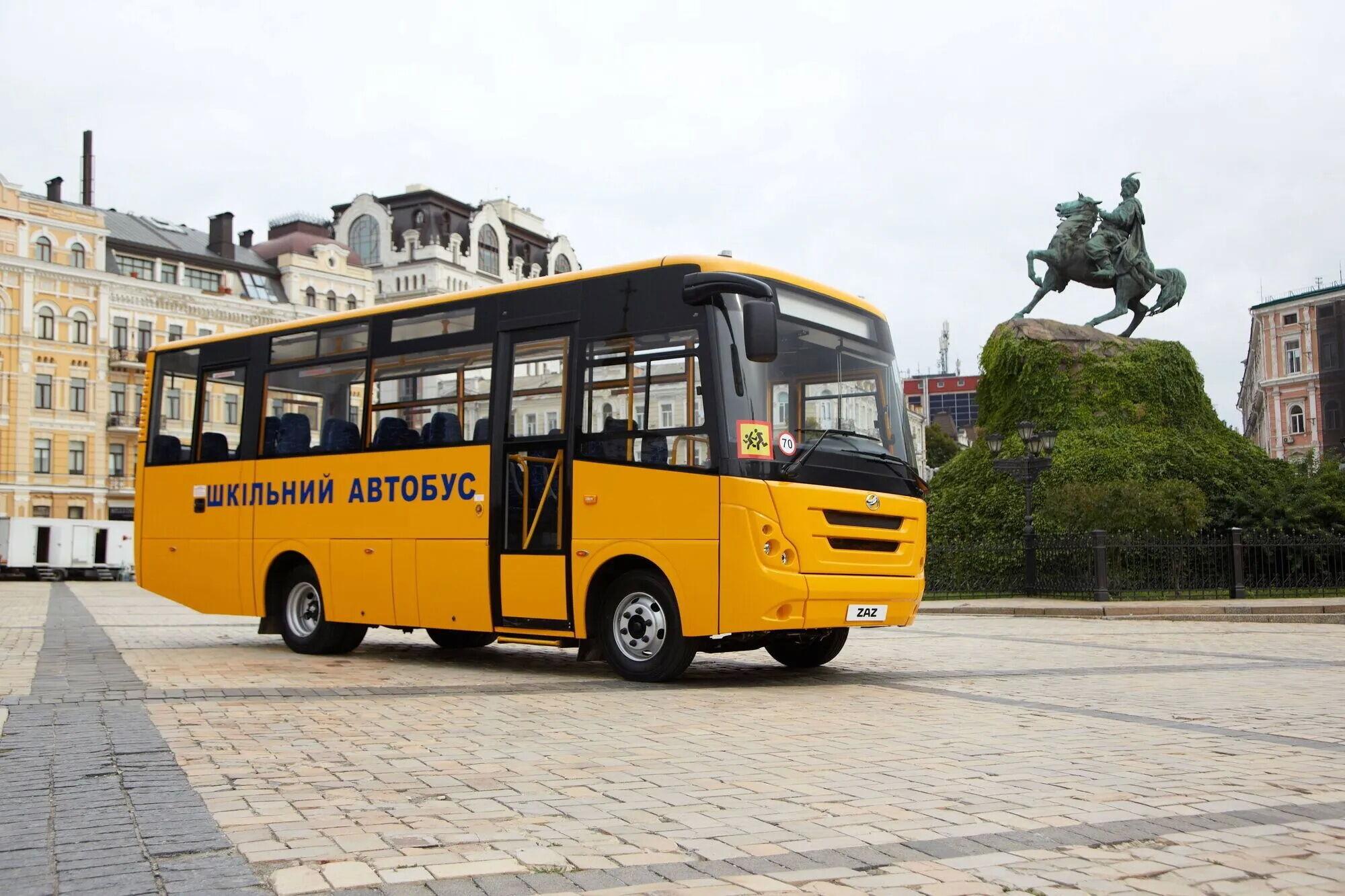 Цього року ЗАЗ планує виготовити 160 автобусів, зокрема і 75 екземплярів моделі А08 для перевезення школярів