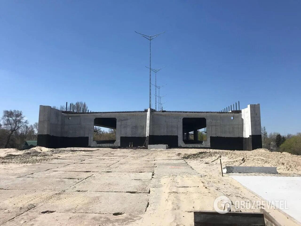 Будущая линия метро на Троещину.