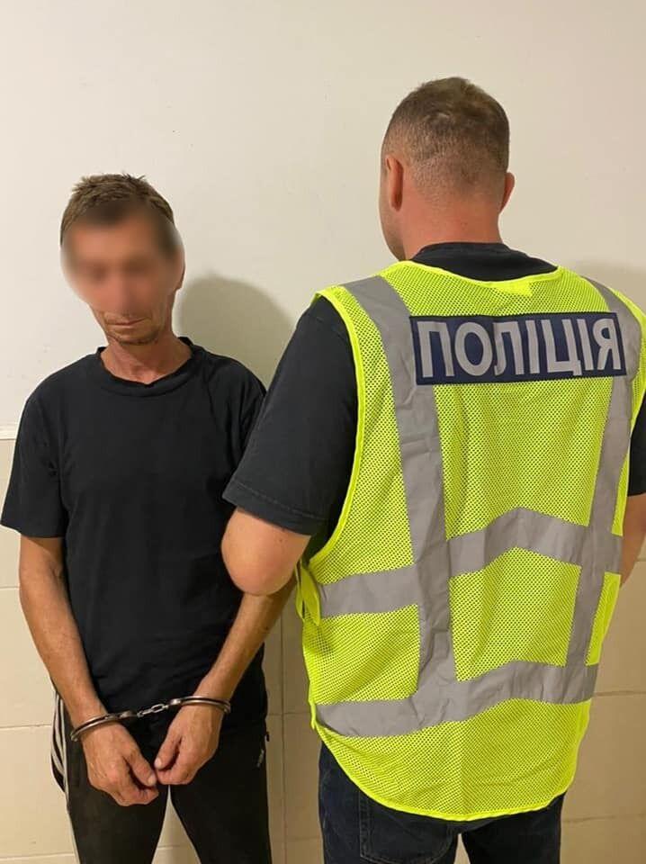 Затриманий грабіжник
