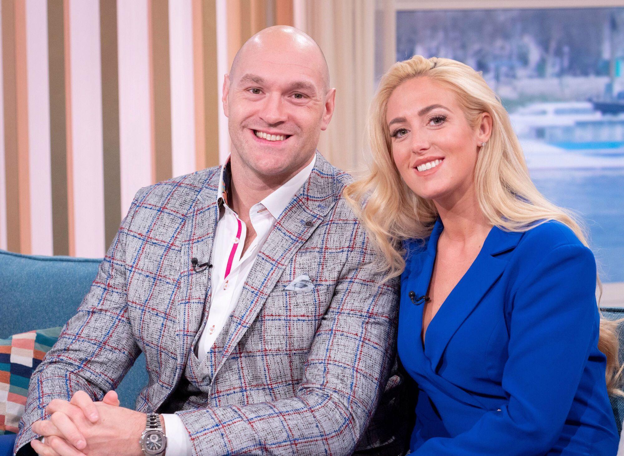 Тайсон із дружиною Періс