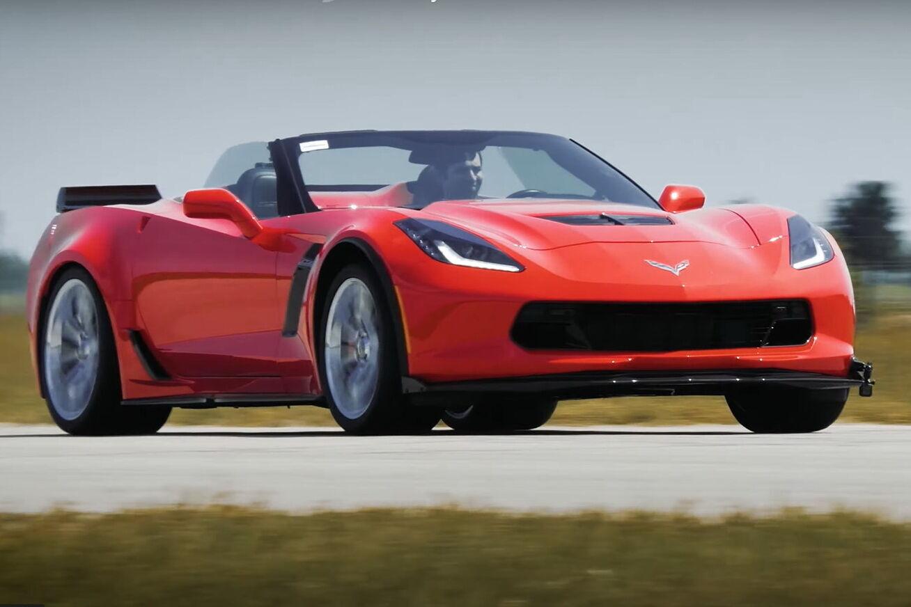 Кабріолет Corvette С7 Z06 у виконанні Hennessey Performance