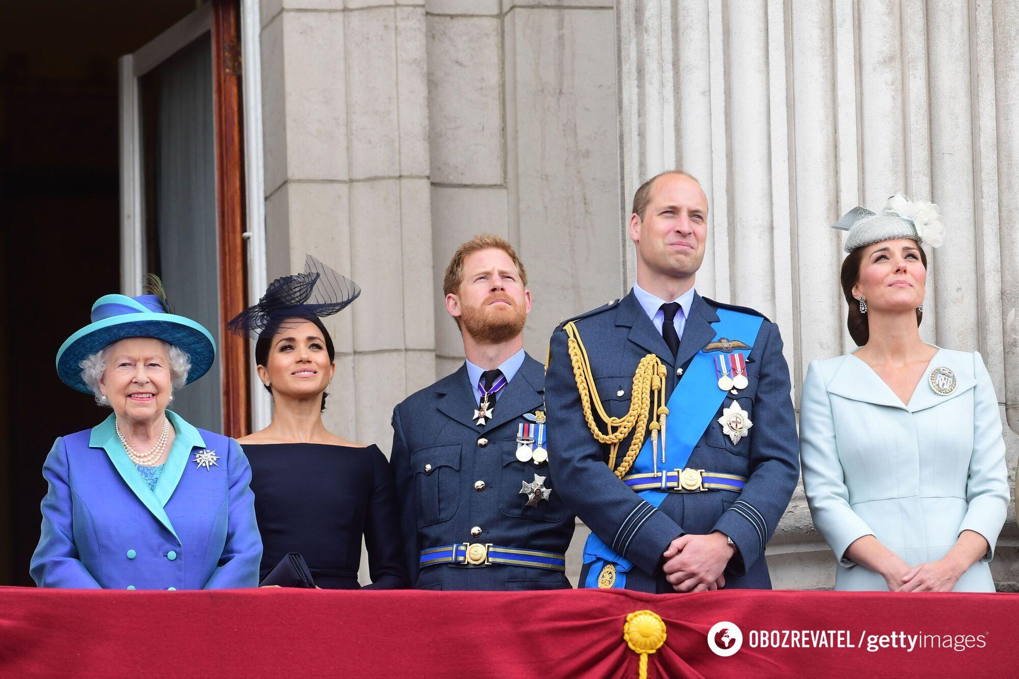Британська королівська родина.