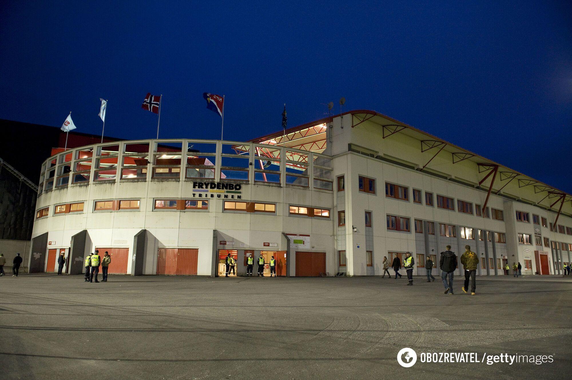 Стадион в Бергене