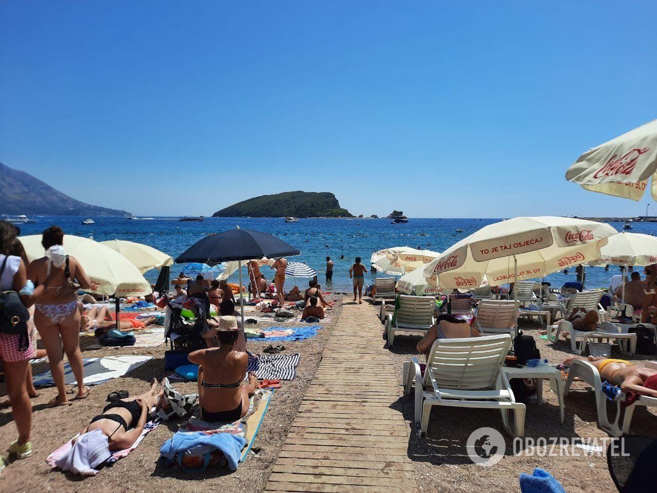 Що відбувається на пляжах Чорногорії