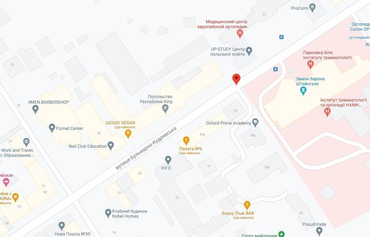 Инцидент произошел на улице Бульварно-Кудрявской.