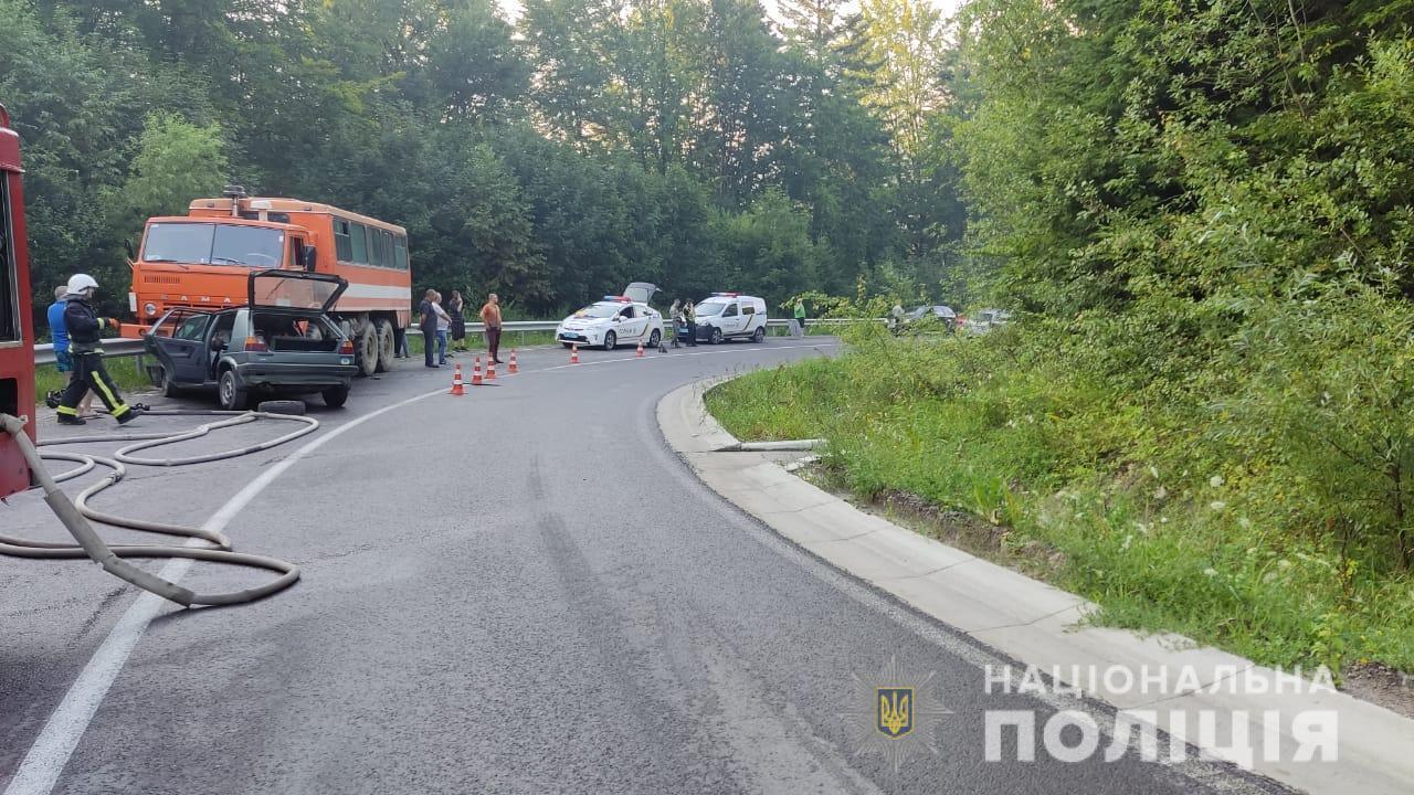 Авария во Львовской области