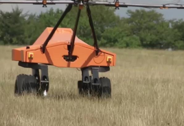 Британский стартап разработал работа, который помогает выращивать урожай.