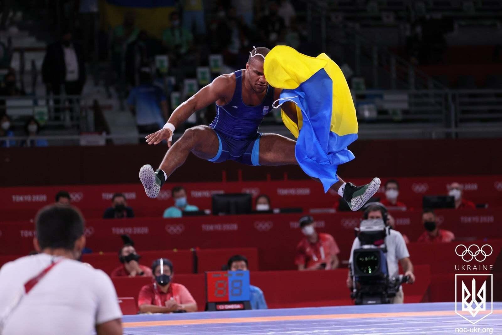 Переможний гопак Беленюка на Олімпіаді в Токіо.
