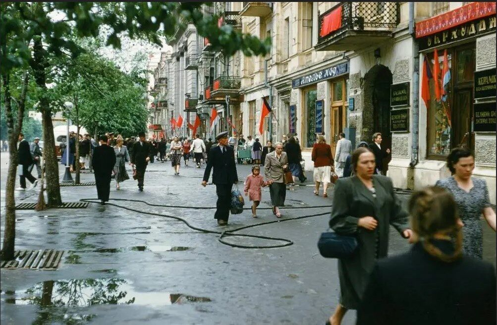 Киев в 1950-х годах.